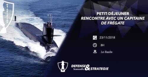 23/11/2018 – Petit-déjeuner // Rencontre avec un capitaine de frégate