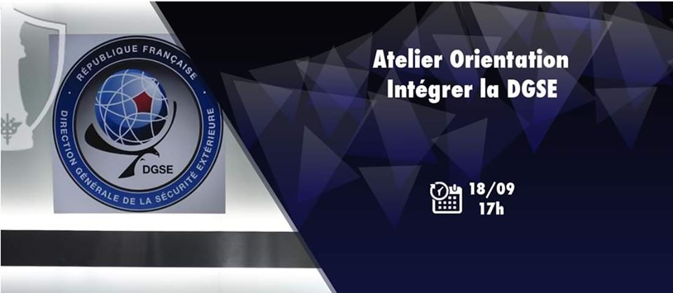 Atelier Orientation – Intégrer la DGSE