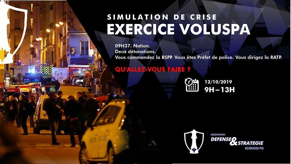 Simulation de crise – Nom de code : Voluspa