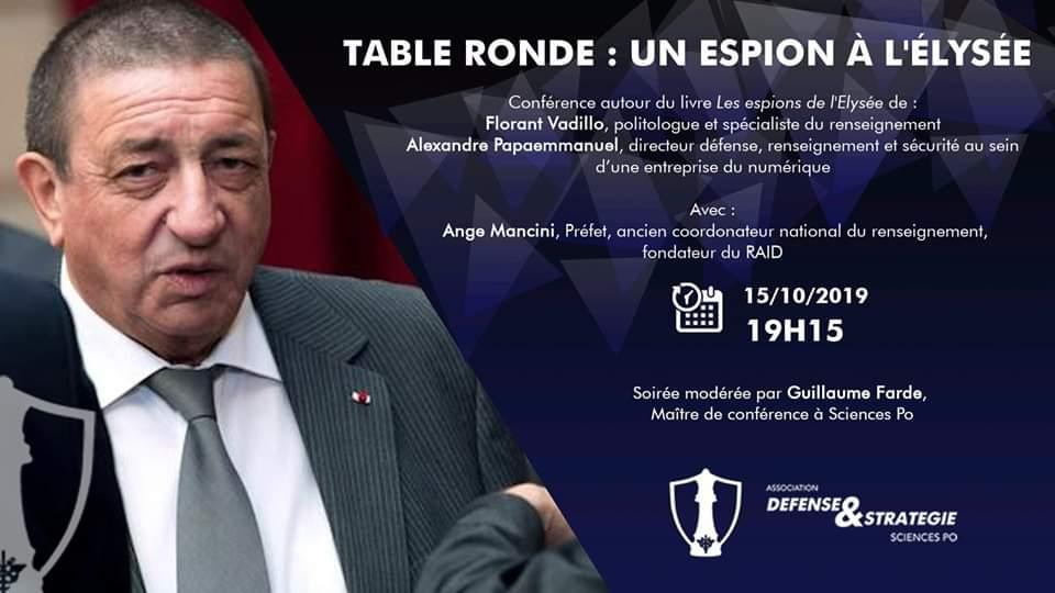 Table ronde – Ange Mancini, un espion à l'Élysée