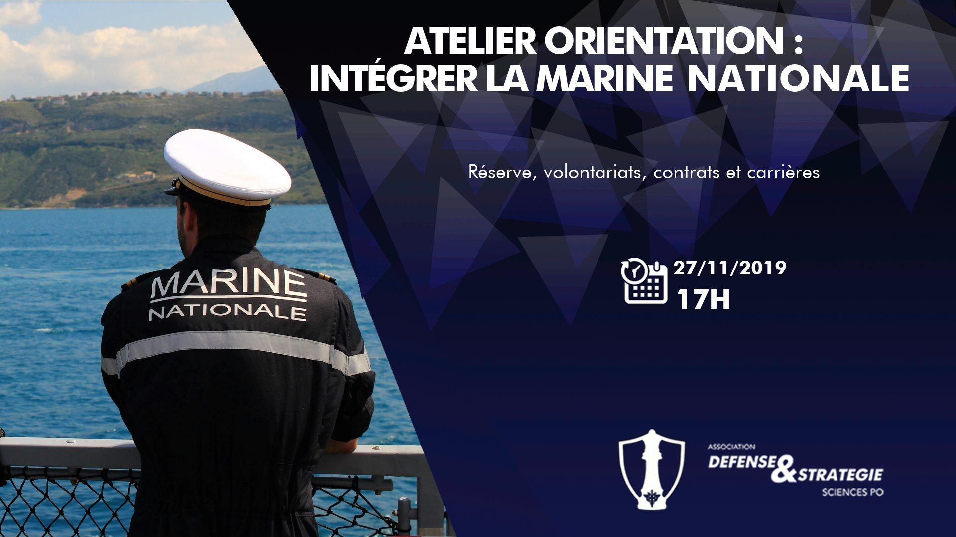 Intégrer la marine nationale