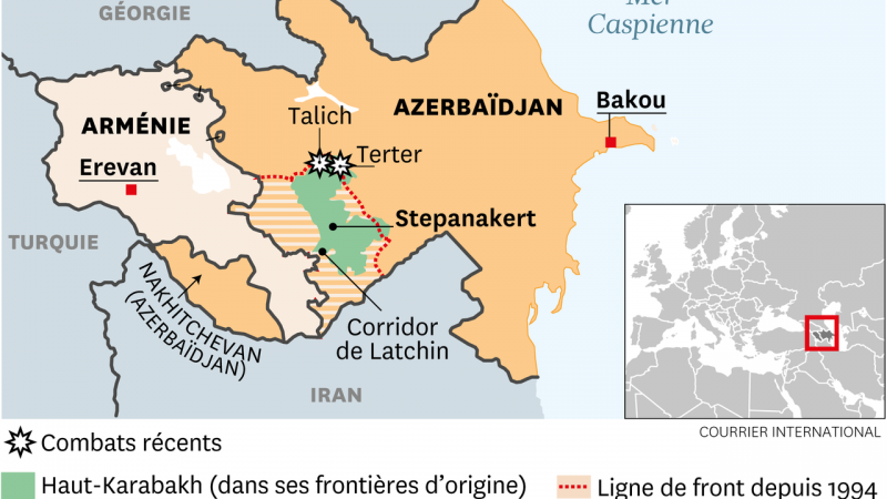 L'inextricable Haut-Karabakh : Guerre d'information et internationalisation du conflit au Sud-Caucase